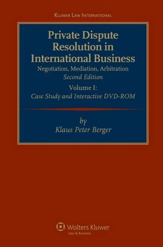 9789041131720: Private Dispute Resolution in International Business 2nd Rev Edit (Kluwer Law International)