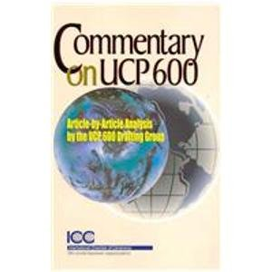9789041131812: Commentary on Ucp 600 (Icc Publication)