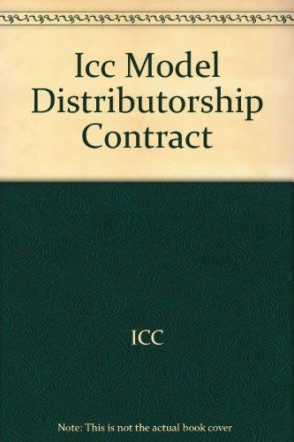 9789041131850: Model Distributorship Contract