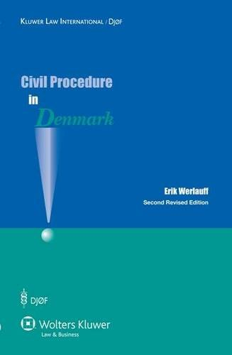 9789041132208: Civil Procedure in Denmark 2nd Revised Edition