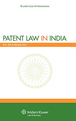 Patent Law in India: Manjula Guru