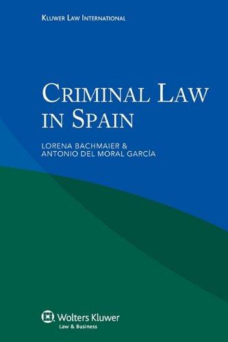 9789041132956: Criminal Law in Spain