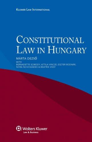 Constitutional Law in Hungary: Deszo, Marta; Somody, Bernadette