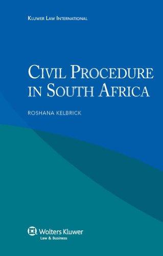 Civil Procedures in South Africa: Kelbrick