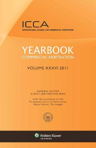 Yearbook Commercial Arbitration Volume XXXV - 2011 (Hardback)