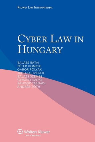 9789041133717: Cyber Law in Hungary