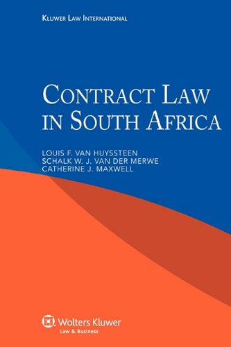 Contract Law in South Africa: Louis F. van
