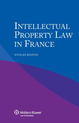 9789041134349: Intellectual Property Law in France