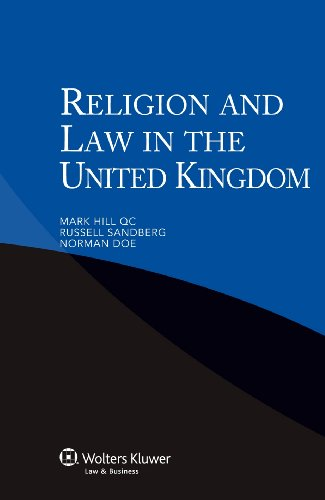 9789041134400: Religion Law in the United Kingdom