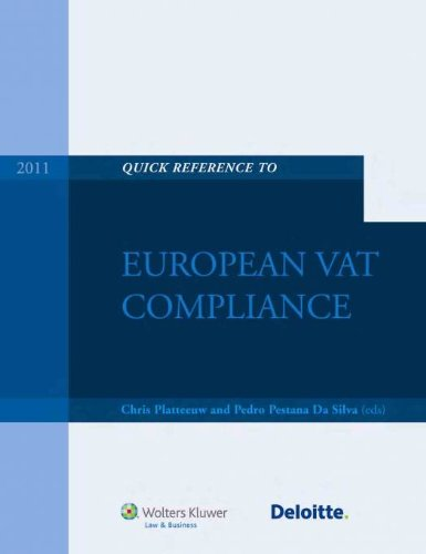 9789041135230: Quick Reference Guide to European VAT Compliance 2011