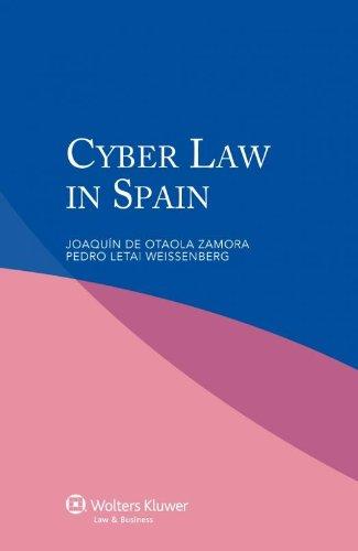 9789041136084: Cyber Law in Spain