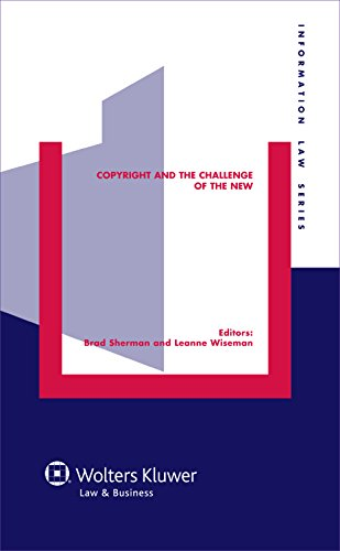 9789041136695: Copyright and the Challenge of the New (Information Law)