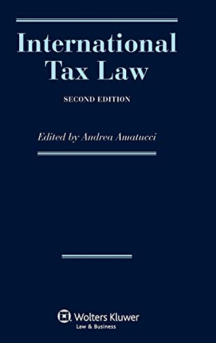 9789041137272: International Tax Law, Second Revised Edition