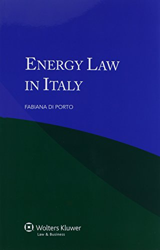 9789041137760: Energy Law in Italy