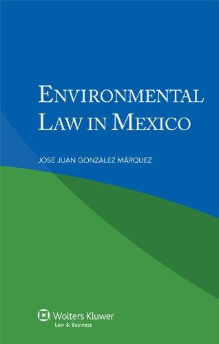 9789041138552: Environmental Law in Mexico