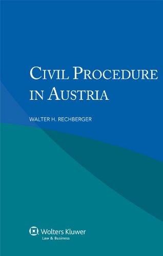 9789041138590: Civil Procedure in Austria