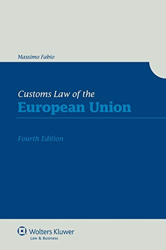 Customs Law of the European Union: Fabio, Massimo