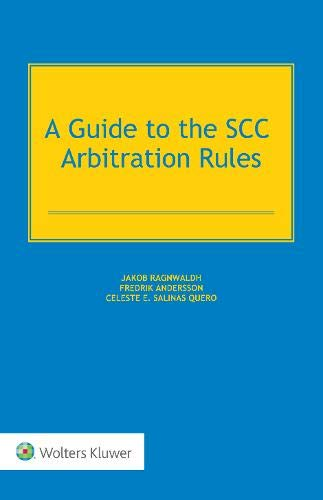 9789041140401: Guide to the Scc Arbitration Rules