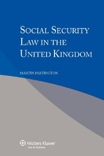 9789041140562: Social Security Law in the United Kingdom