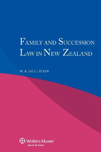 9789041141491: Family and Succession Law in New Zealand