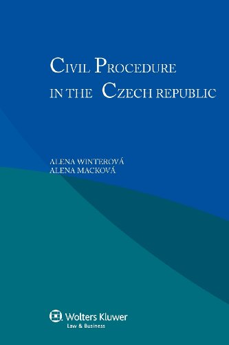 9789041141613: Civil Procedure in the Czech Republic