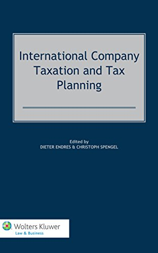 9789041145567: International Company Taxation and Tax Planning