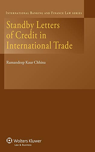 9789041145604: Standby Letters of Credit in International Trade (International Banking & Finance Law Series) (International Banking and Finance Law)