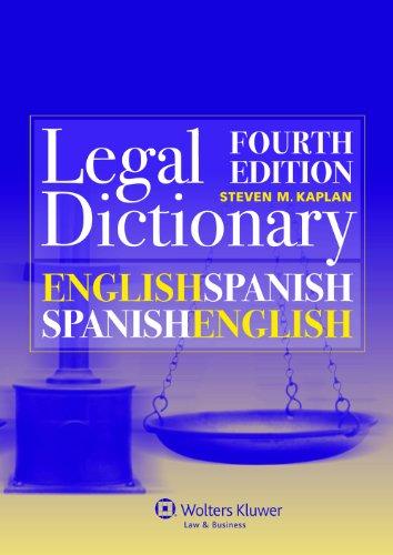 9789041145659: English/Spanish and Spanish/English Legal Dictionary (English and Spanish Edition)