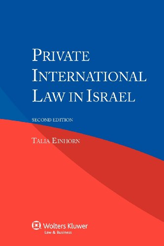9789041145888: Private International Law in Israel
