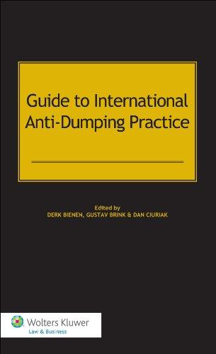 9789041146786: Guide to International Anti Dumping Practice