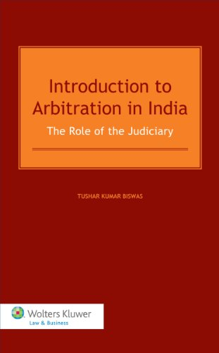9789041147653: Introduction to Arbitration in India. The Role of the Judiciary