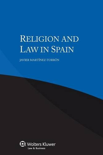 9789041151834: Religion and Law in Spain