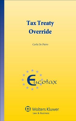 9789041154064: Tax Treaty Override (Eucotax)