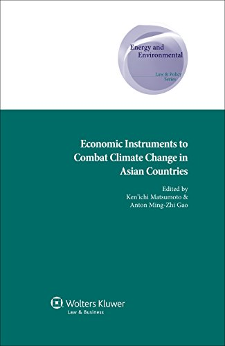 9789041154088: Economic Instruments to Combat Climate Change in Asian Countries