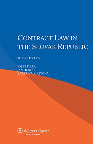 9789041154262: Contract Law in Slovak Republic