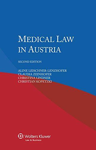 9789041154316: Medical Law in Austria