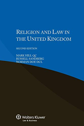 Religion and Law in the United Kingdom: Hill, Mark; Sandberg, Russell; Doe, Norman