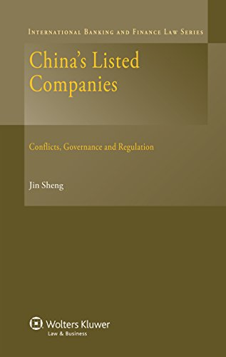 China s Listed Companies: Conflicts, Governance and Regulation (Hardback): Jin Sheng