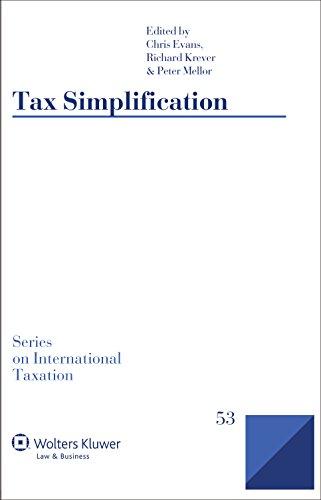 9789041159762: Tax Simplification (International Taxation)