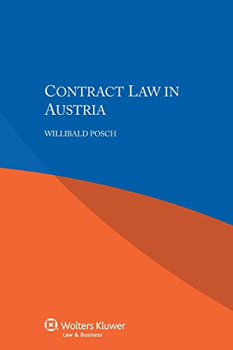 9789041160034: Contract Law in Austria