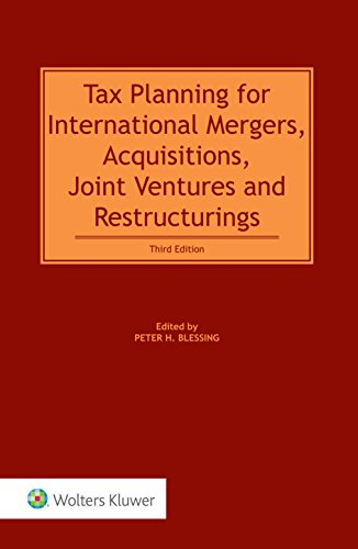 9789041161222: Tax Planning for International Mergers, Acquisitions, Joint Ventures and Restructurings (2 Volumes)
