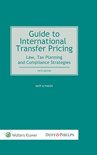 9789041161246: Guide To International Transfer Pricing. Law, Tax Planning and Compliance Strategies