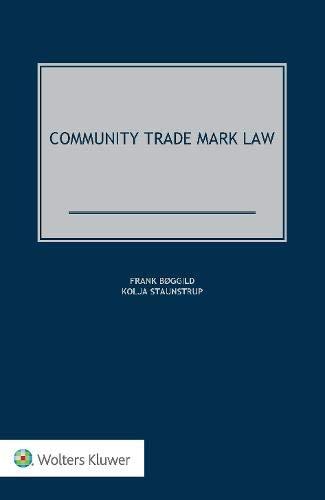 9789041162182: Community Trademark Law