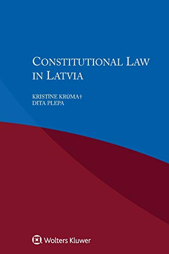 9789041182753: Constitutional Law in Latvia