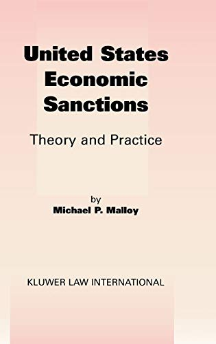 9789041188618: United States EConomic Sanctions: Theory and Practice