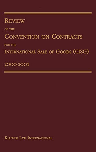 9789041188786: Review of Convention on Contracts for International Sale of Goods 2000-2001