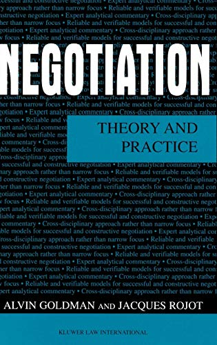 9789041188960: Negotiation: Theory and Practice