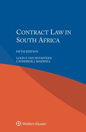 Contract Law in South Africa: Van Huyssteen, Louis