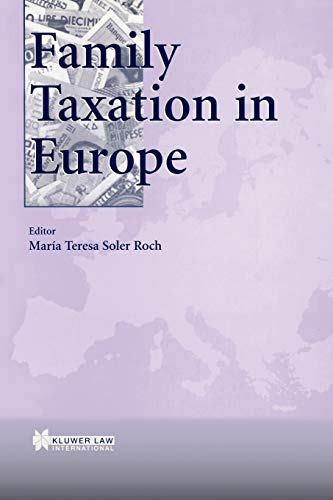 9789041197559: Family Taxation in EUrope