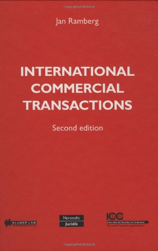 International commercial transactions. 2nd edition.: Ramberg, Jan.